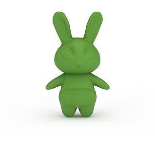 疯狂动物城兔子朱迪3d模型
