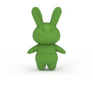 疯狂<font class='myIsRed'>动物</font>城兔子朱迪3d模型