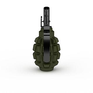 手榴弹3d模型