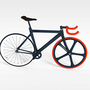 自行车模型3d模型