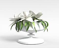 花卉装饰模型3d模型