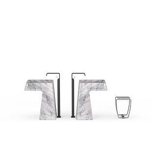 公共洗手池3d模型