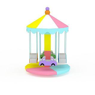 儿童游乐设施3d模型