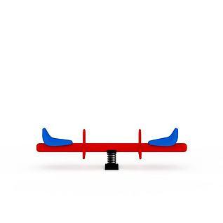 跷跷板3d模型