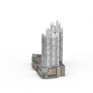 建筑大厦3d模型