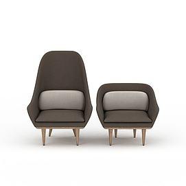 3d<font class='myIsRed'>沙发</font>椅模型