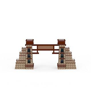 藏式牌坊3d模型