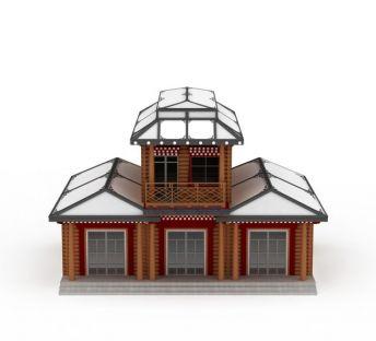 藏式房屋建筑
