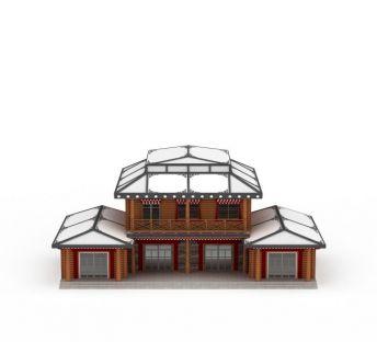 藏式建筑房屋