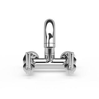 洗手池水龙头3d模型