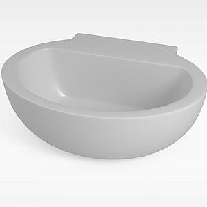 圆形浴缸模型