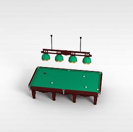 球桌3d模型