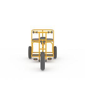 3d儿童小车系列模型
