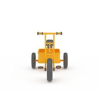 儿童皮卡车3d模型