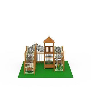 拱笼组合3d模型