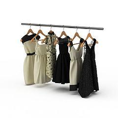 女性服饰模型3d模型