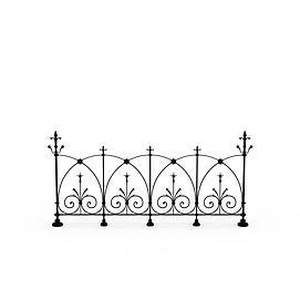 3d篱笆模型