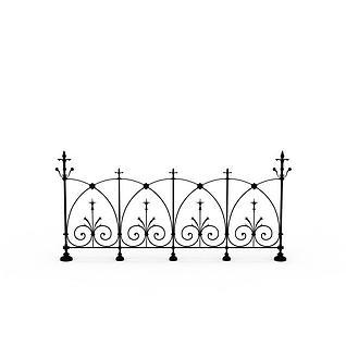 篱笆3d模型