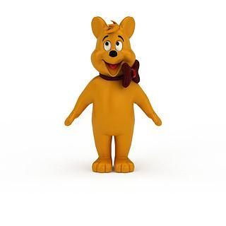卡通熊3d模型