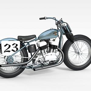 炫酷摩托车模型