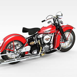 摩托赛车模型