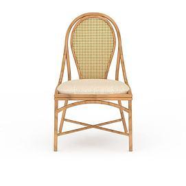 编织椅子3d模型
