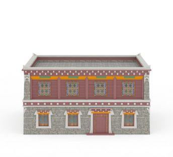 藏式居民楼