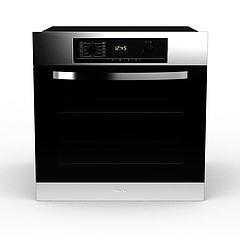 智能烤箱模型3d模型