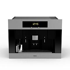 智能咖啡机模型3d模型