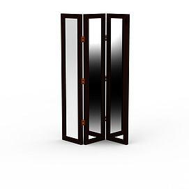 折叠镜3d模型