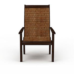 3d编织椅模型