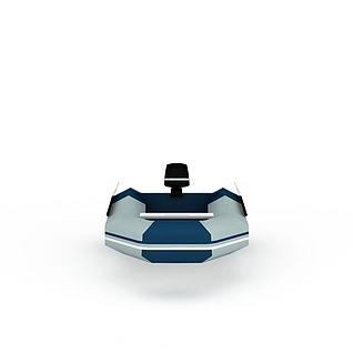 皮划艇3d模型