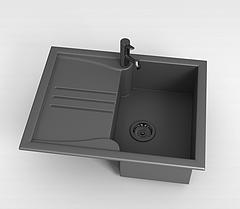 洗菜池模型3d模型
