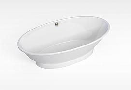大浴缸模型