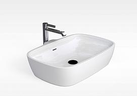 现代浴缸模型
