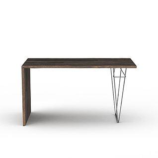 简易边桌3d模型