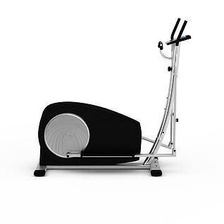 踏步机3d模型