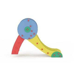 儿童玩具小滑梯3d模型