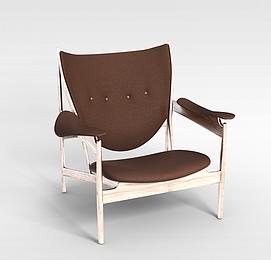 3d老人扶手椅模型