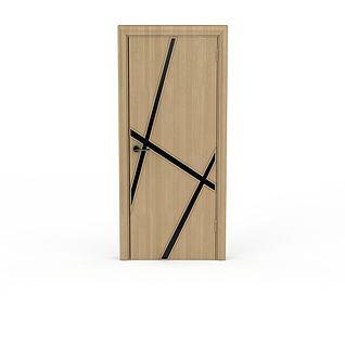 中式木质门3d模型3d模型