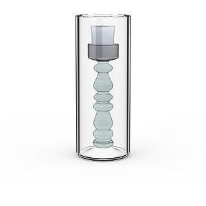 家用烛台模型