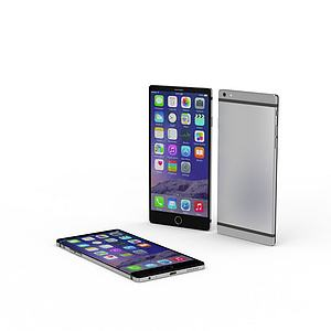 3d蘋果Iphone 7<font class='myIsRed'>手機</font>模型