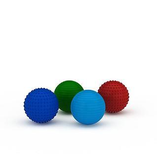 健身球3d模型