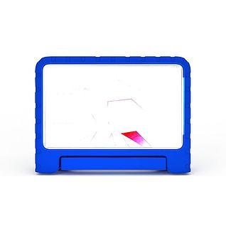 蓝色儿童卡通电视3d模型
