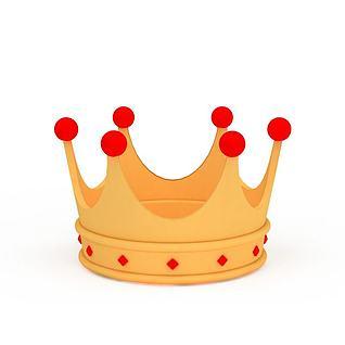 王冠3d模型