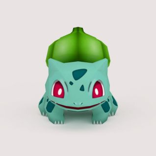 Bulbasaur口袋妖怪3D模型
