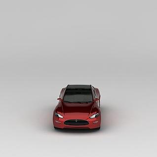 特斯拉Tesla汽车3d模型