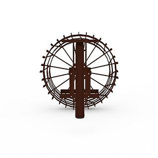 水风车3d模型