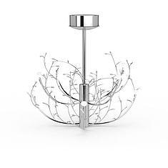 现代简约吊灯3D模型3d模型
