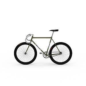 山地自行车模型3d模型